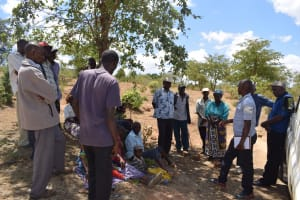 The Water Project: Mitini Community C -  Self Help Group Members