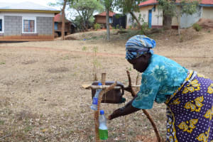 The Water Project: Mitini Community C -  Washing Hands