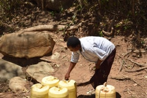 The Water Project: Mitini Community C -  Water Cannisters