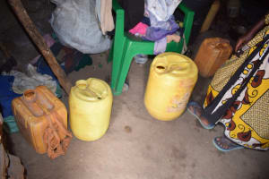 The Water Project: Kithumba Community C -  Water Storage Containers