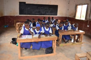 The Water Project:  Girls In Class
