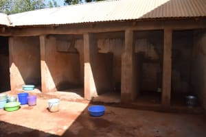 The Water Project: Ndoo Secondary School -  Bathing Rooms