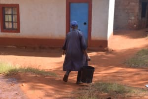 The Water Project: Ndoo Secondary School -  Carrying Water