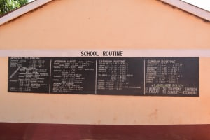 The Water Project: Ndoo Secondary School -  Daily Routine