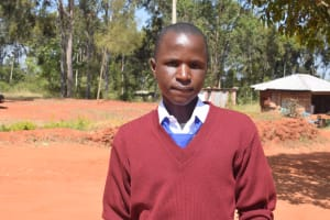 The Water Project: Ndoo Secondary School -  Kennedy Musyoki