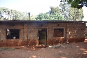 The Water Project: Ndoo Secondary School -  Kitchen Building