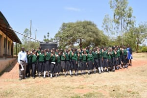 The Water Project: Ngaa Secondary School -  Students