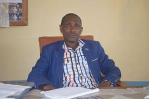 The Water Project: Kitooni Primary School -  Headteacher Gregory Wambua