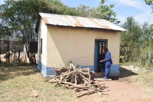 The Water Project: Kitooni Primary School -  Kitchen
