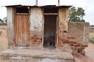 The Water Project: Muunguu Primary School -  Boys Latrines