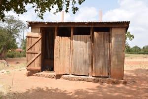 The Water Project: Muunguu Primary School -  Girls Latrines