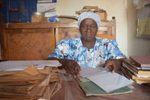 The Water Project: Muunguu Primary School -  Headteacher Hamina Mwendwa