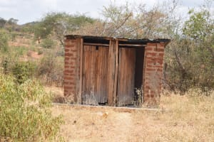 The Water Project: Muunguu Primary School -  Staff Latrines