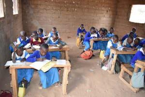 The Water Project: Muunguu Primary School -  Studying In Class