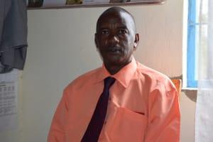 The Water Project: AIC Mbau Secondary School -  Principal Charles Mwendwa