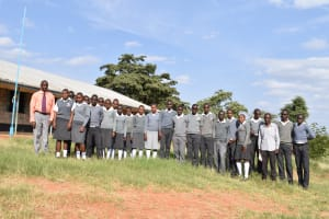 The Water Project: AIC Mbau Secondary School -  Students