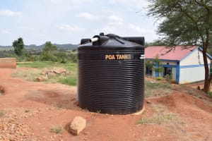 The Water Project: AIC Mbau Secondary School -  Water Tank