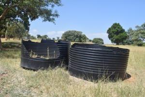 The Water Project: Kyaani Primary School -  Broken Water Tanks