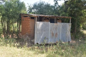 The Water Project: Kyaani Primary School -  Girls Latrines