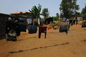 The Water Project: Tulun Community, Hope Assembly of God School and Church -  Clothesline