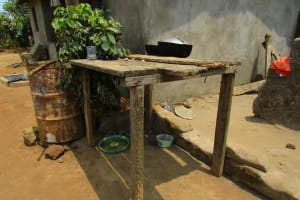 The Water Project: Tulun Community, Hope Assembly of God School and Church -  Dish Racks
