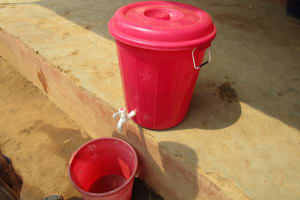 The Water Project: Tulun Community, Hope Assembly of God School and Church -  Hand Washing Station