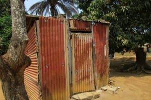 The Water Project: Tulun Community, Hope Assembly of God School and Church -  Latrine