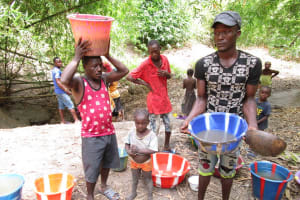 The Water Project: Mathem Community -  Water Ready To Carry Home