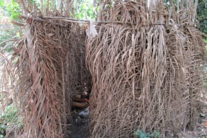 The Water Project: Mathem Community -  Bath Shelter