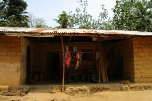 The Water Project: Mathem Community -  Hnusehold Compound