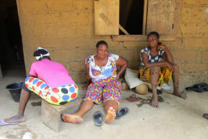The Water Project: Roloko Community -  Women Hanging Out