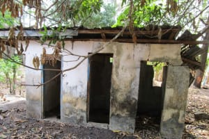 The Water Project: Roloko Community -  Abandon Public Toilet
