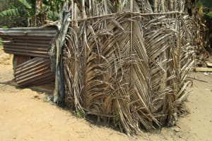 The Water Project: Roloko Community -  Bathshelter