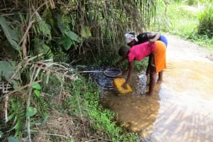 The Water Project: Roloko Community -  Main Water Source