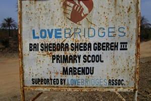 The Water Project: PC Bai Shebora Gbereh III Primary School -  School Logo