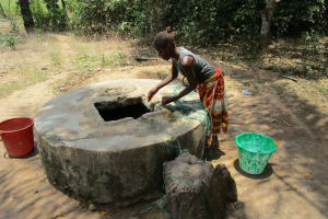 The Water Project: Mabendo Community, Mosque -  Fetching Water