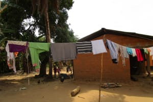 The Water Project: Mabendo Community, Mosque -  Clothesline