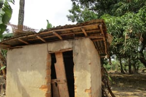 The Water Project: Mabendo Community, Mosque -  Latrine
