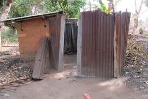 The Water Project: Mabendo Community -  Latrine