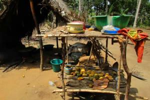 The Water Project: Komrabai Community, 35 Port Loko Road -  Dish Drying Rack