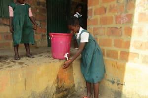 The Water Project: DEC Mathem Primary School -  Handwashing Station