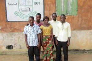 The Water Project: DEC Mathem Primary School -  School Staff