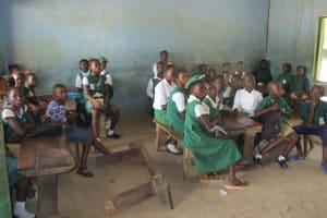 The Water Project: DEC Mathem Primary School -  Inside Classroom