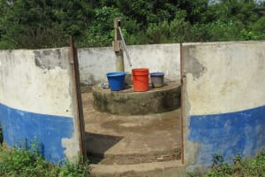 The Water Project: DEC Mathem Primary School -  Main Water Source