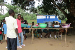 The Water Project: DEC Mathem Primary School -  School Canteen