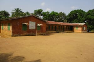 The Water Project: DEC Mathem Primary School -  School Compound