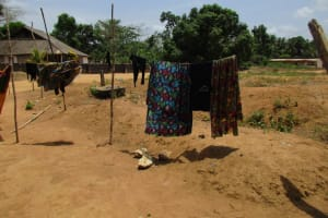 The Water Project: Mapitheri, Port Loko Road -  Clothesline