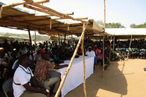 The Water Project: Kasongha Community, 3A Nahim Drive -  A View Of The Many People Attending The Training