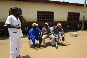 The Water Project: Kasongha Community, 3A Nahim Drive -  Actors Carry Out Demonstration At Training