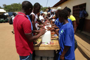 The Water Project: Kasongha Community, 3A Nahim Drive -  Learning To Construct Handwashing Stations To Use At Home